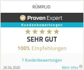 Erfahrungen & Bewertungen zu RÜMPLIO.